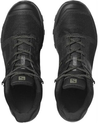 Salomon OUTline Prism Mid GTX Black/Black/Castor Gray 11 UK