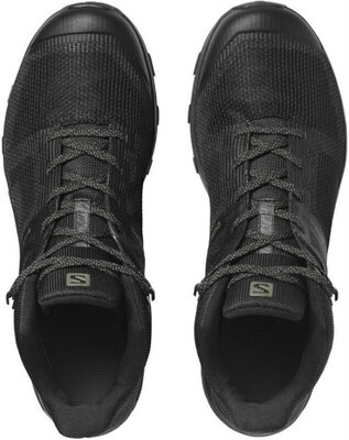 Salomon OUTline Prism Mid GTX Black/Black/Castor Gray 8 UK