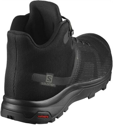 Salomon OUTline Prism Mid GTX Black/Black/Castor Gray 9 UK