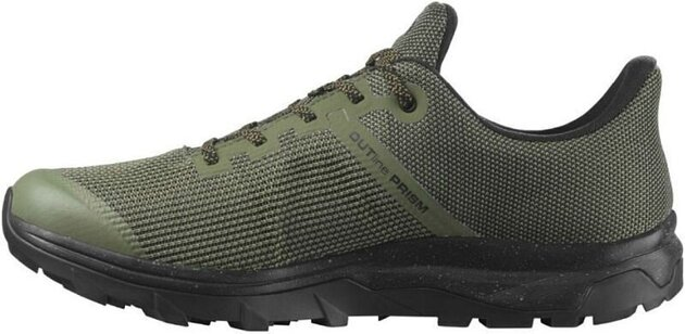 Salomon OUTline Prism GTX Deep Lichen Green/Black/Cumin 8 UK