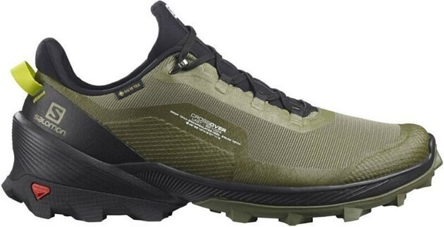 Salomon Cross Over GTX Deep Lichen Green/Black/Evening Primrose 9 UK