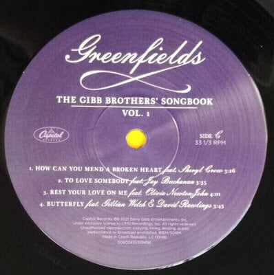 Barry Gibb Greenfields: The Gibb Brothers' Songbook Vol. 1 (2 LP)
