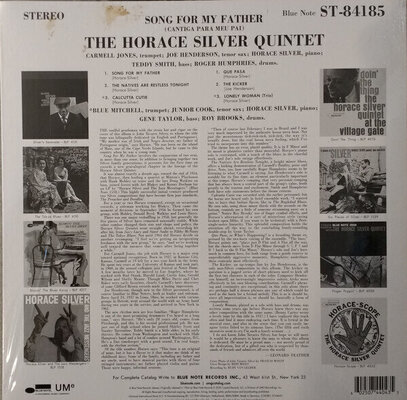 Horace Silver Song For My Father (Vinyl LP)
