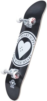 Heart Supply Logo Skateboard Complete 8'' Badge/Black