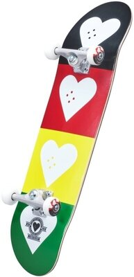 Heart Supply Logo Skateboard Complete 8,25'' Quad