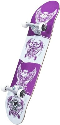 Heart Supply Bam Pro Skateboard Complete 7,75'' Dark Light
