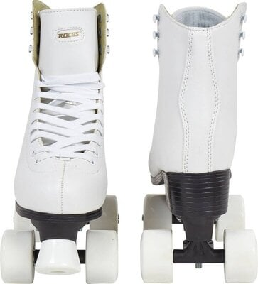 Roces White Classic Roller Skates 26