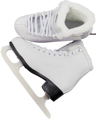 Roces Paradise Eco-Fur Figure Skates White 38