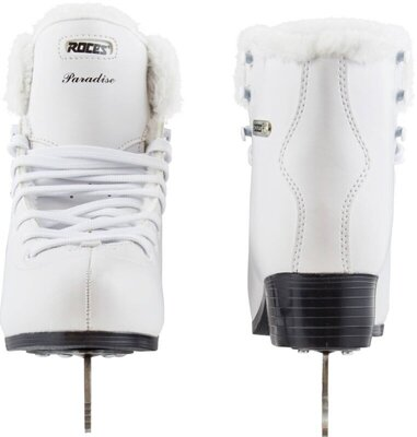 Roces Paradise Eco-Fur Figure Skates White 40