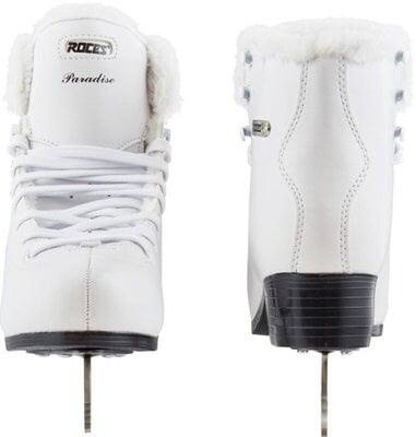 Roces Paradise Eco-Fur Figure Skates White 42