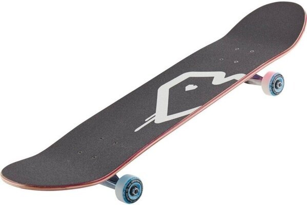 Blueprint Spray Heart 8.25'' V2 Skateboard Complete Pink/Blue