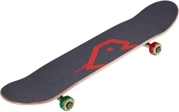 Blueprint Spray Heart 8'' V3 Skateboard Complete Rasta
