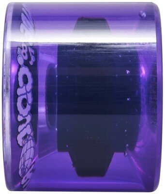 Cloud Ride Cruiser Wheels 69mm Clear Purple