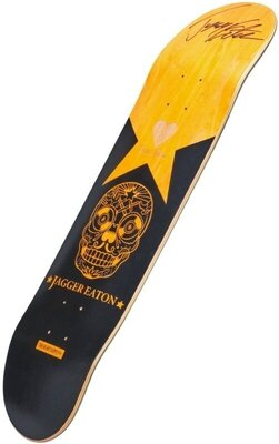 Heart Supply Jagger Eaton Signature Skateboard Deck 8'' Orange