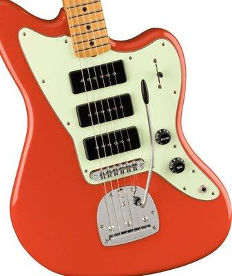 Fender Noventa Jazzmaster MN Fiesta Red