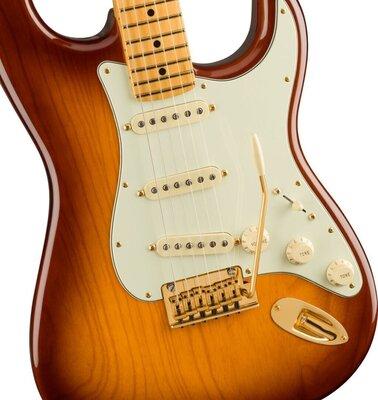 Fender 75th Anniversary Commemorative Stratocaster MN 2-Color Bourbon Burst