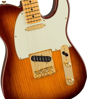 Fender 75th Anniversary Commemorative Telecaster MN 2-Color Bourbon Burst
