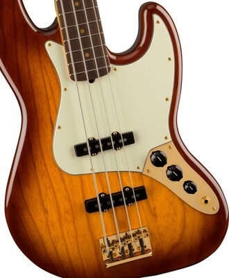 Fender 75th Anniversary Commemorative Jazz Bass RW 2-Color Bourbon Burst