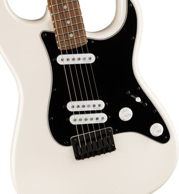 Fender Squier Contemporary Stratocaster Special HT LRL Black Pickguard Pearl White