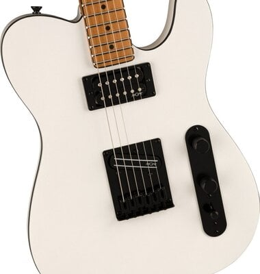 Fender Squier Contemporary Telecaster RH Roasted MN Pearl White
