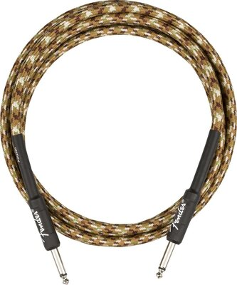 Fender Professional Series Instrument Cable Straight/Straight 10' Desert Camo