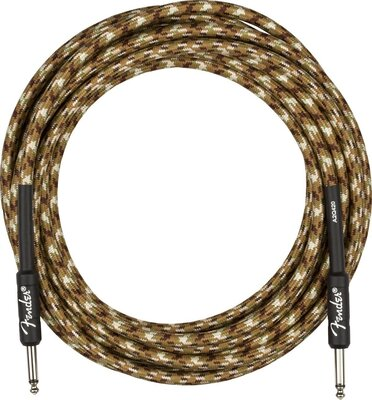 Fender Professional Series Instrument Cable Straight/Straight 18,6' Desert Camo