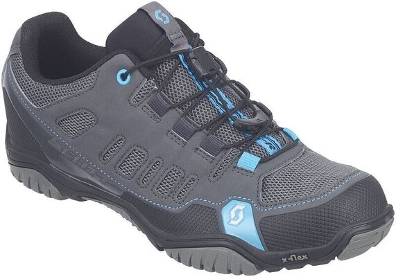 Scott Sport Crus-r Lady Anthracite/Neon Blue 37