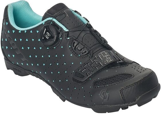 Scott MTB Comp BOA Lady Matt Black/Turquoise Blue 42