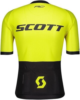Scott Men's RC Premium Climber S/SL Black/Sulphur Yellow L