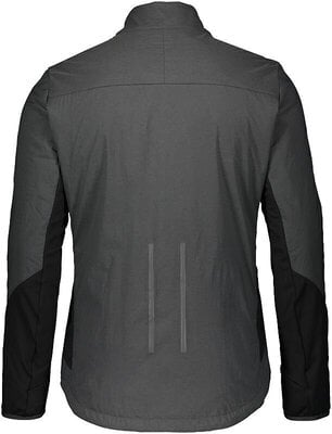Scott Men's Trail Storm Alpha Jacket Dark Grey/Black M