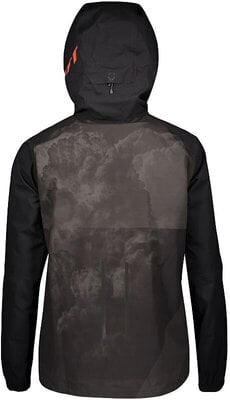 Scott Men's Trail Storm WP Jacket Black/Orange Pumpkin M