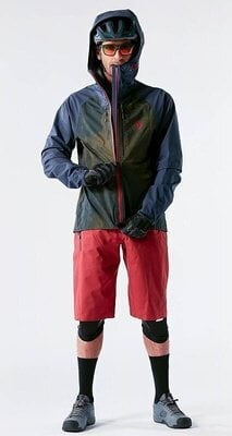 Scott Men's Trail Storm WP Jacket Black/Orange Pumpkin L