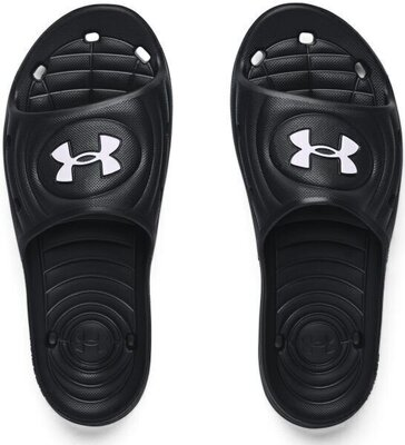 Under Armour Locker IV Mens Black/Black/White 10