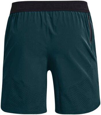 Under Armour Stretch Woven Mens Shorts Dark Cyan/Metallic Solder XL