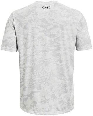 Under Armour ABC Camo Mens Short Sleeve White/Mod Gray S