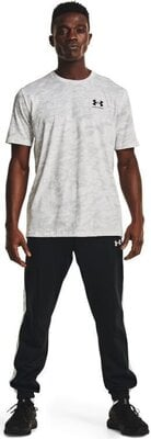 Under Armour ABC Camo Mens Short Sleeve White/Mod Gray L