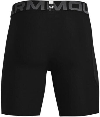Under Armour HG Armour Mens Shorts Black/Pitch Gray L