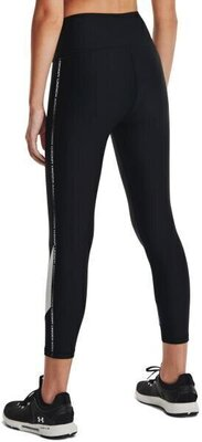 Under Armour HG Armour Taped 7/8 Womens Leggings Black/White/White XS