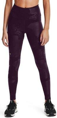 Under Armour Rush Tonal Womens Leggings Polaris Purple/Iridescent M