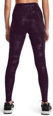 Under Armour Rush Tonal Womens Leggings Polaris Purple/Iridescent L