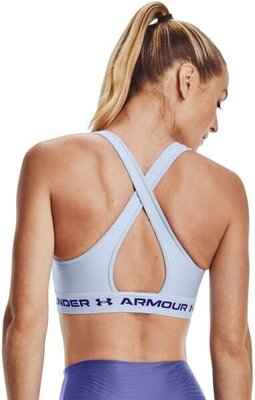 Under Armour Crossback Mid Womens Bra Isotope Blue/Isotope Blue/Regal XS