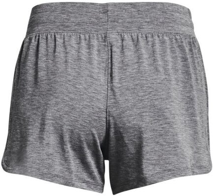 Under Armour Recover Sleep Womens Shorts Black Fade Heather/Metallic Silver 2XS