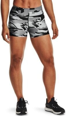 Under Armour Isochill Team Womens Shorts Black/White XS