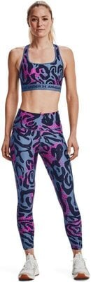 Under Armour HG Armour Print 7/8 Womens Leggings Mineral Blue/Midnight Navy M