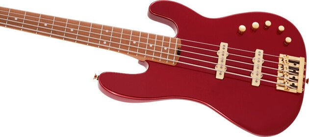 Charvel Pro-Mod San Dimas Bass JJ V MN Candy Apple Red