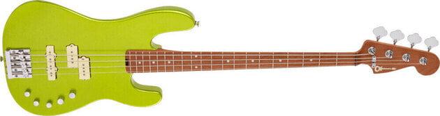Charvel Pro-Mod San Dimas Bass PJ IV MN Lime Green Metallic