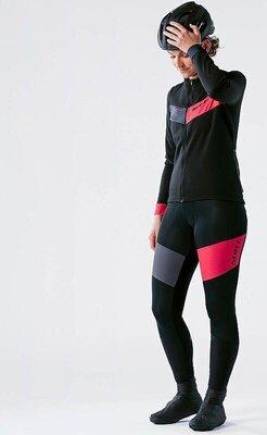 Scott Women's RC Warm L/SL Black/Azalea Pink L