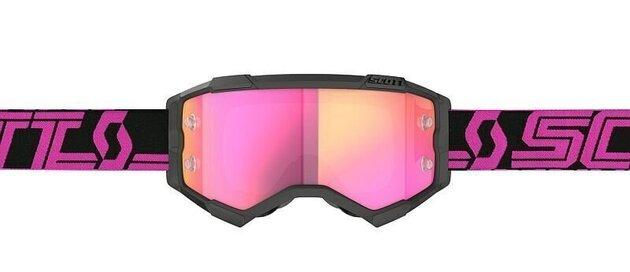 Scott Fury Black/Pink/Pink Chrome Works