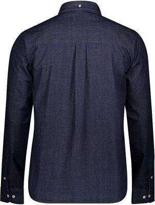 Scott Men's 10 Casual L/SL Denim Blue S