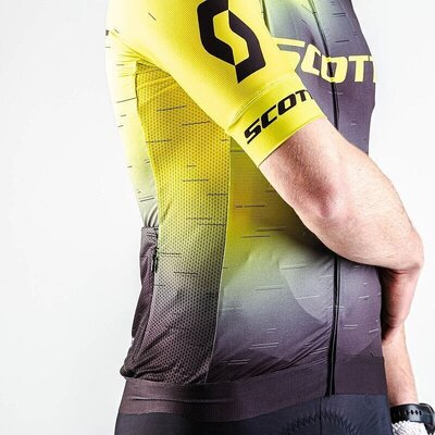Scott Men's RC Pro S/SL Sulphur Yellow/Black XXL